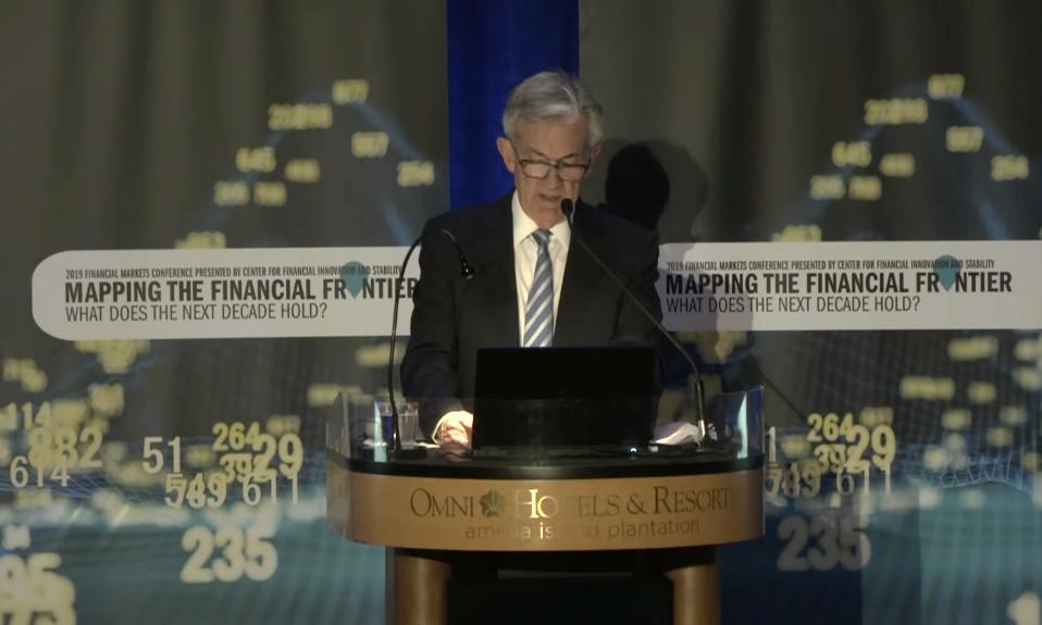 鲍威尔:我们的金融体系坚如磐石