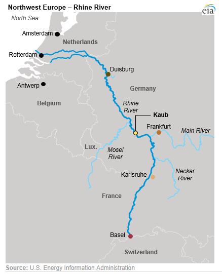 莱茵河的雨和央行家的烦恼:气候变化如何影响货币政策